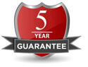 Fire and Safety Solutions 5 Year Guarantee
