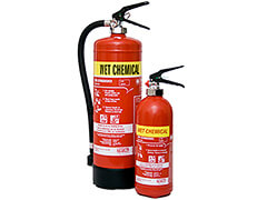 Wet Chemcial Fire Extinguisher