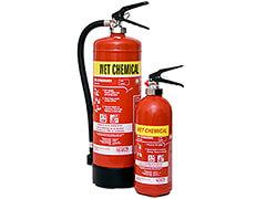 Wet Chemcial Fire Extinguisher
