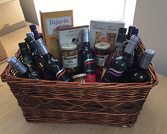 Hamper for a Charity Ball in aid of World Child Cancer