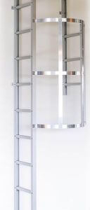 Modum escape ladder back protection